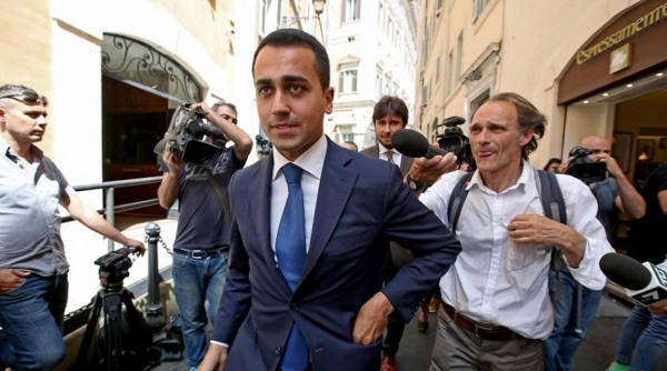 Luigi Di Maio del M5s (Fonte: lastampa.it)