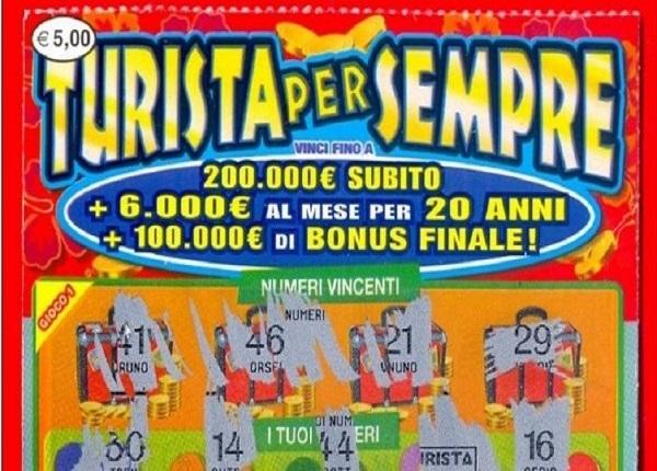 Fabriano, la fortuna sorride a un quarantenne disoccupato