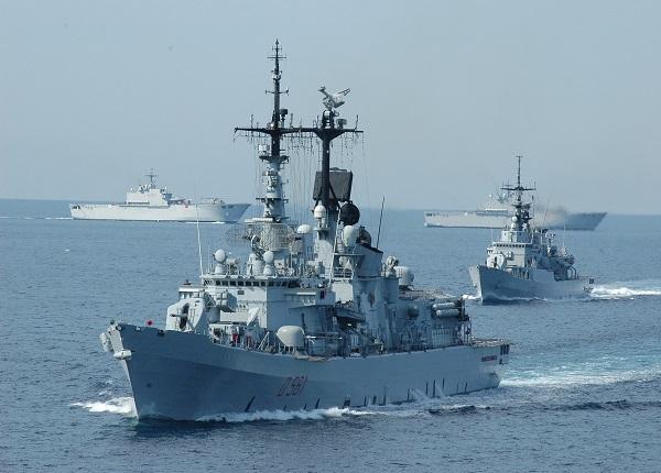 Navi militari Usa (Fonte: secoloditalia.it)