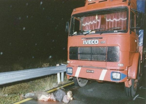 Il cadavere di Denis Bergamini