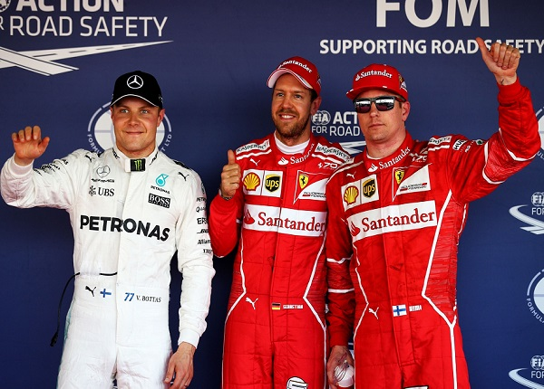 Sebastian Vettel pole position al GP di Russia 2017