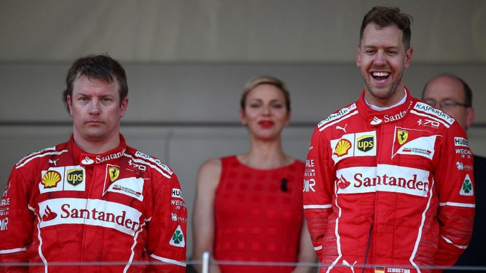 Kimi Raikkonen svuota il sacco sull'addio alla Ferrari Monaco F1: doppietta Ferrari con Sebastian Vettel primo