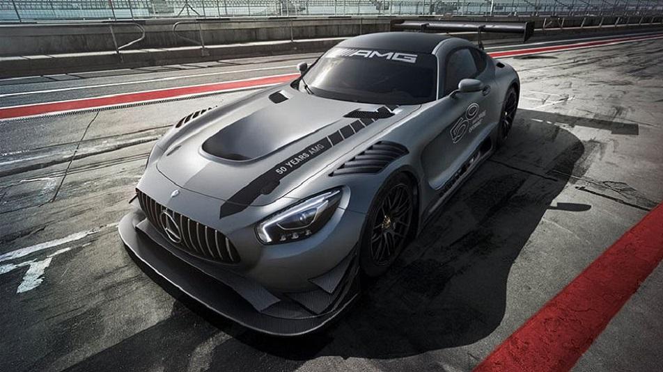 Mercedes-AMG GT3 Edition 50 svelata al Nurburgring