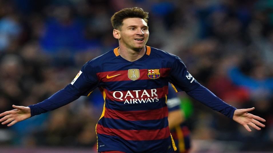 Messi, protagonista di Barcellona-Alaves