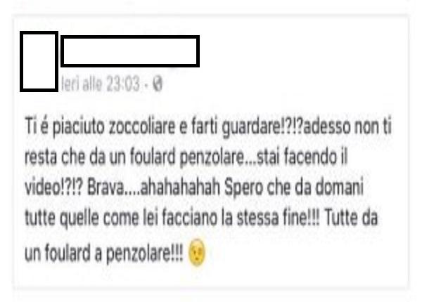 Tiziana Cantone alle Iene