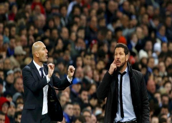 Simeone e Zidane si sfidano in Atletico-Real
