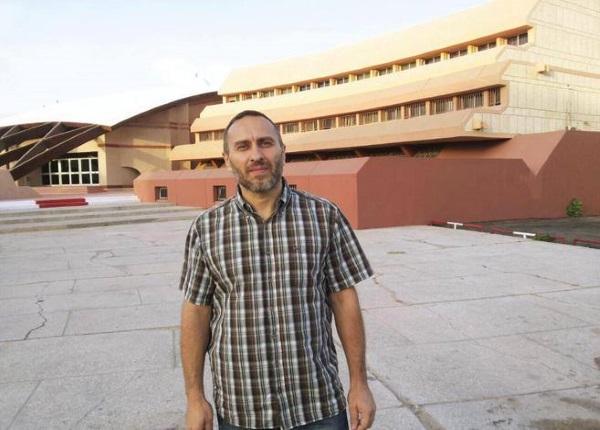 Cristian Provvisionato durante la prigionia in Mauritania