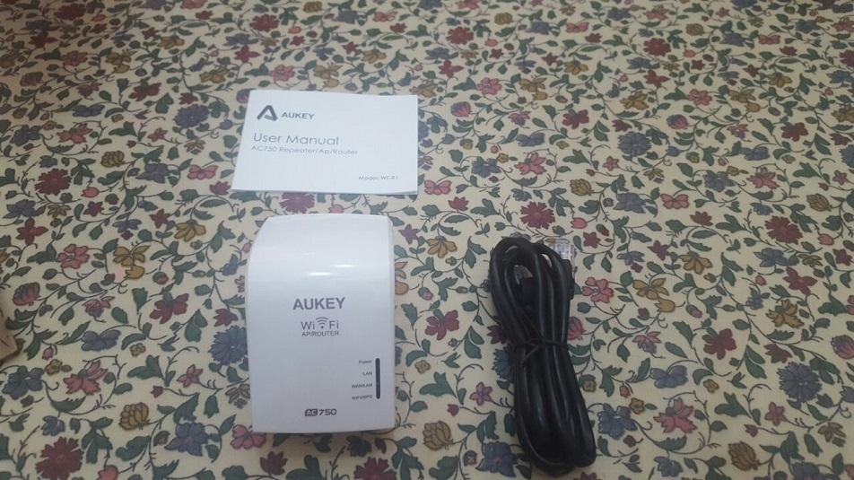 Aukey WF-R1: recensione ripetitore/ap/router WiFi