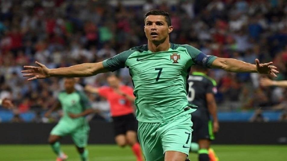 Ronaldo, protagonista di Portogallo-Svizzera
