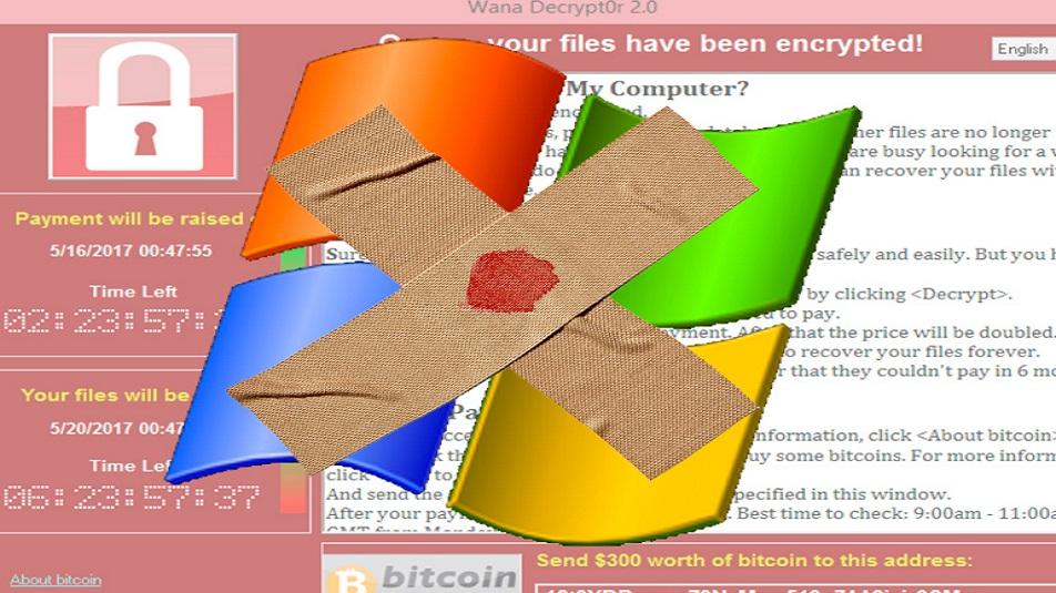 Windows XP: arrivano nuove patch per attacchi ransomware come Wannacry