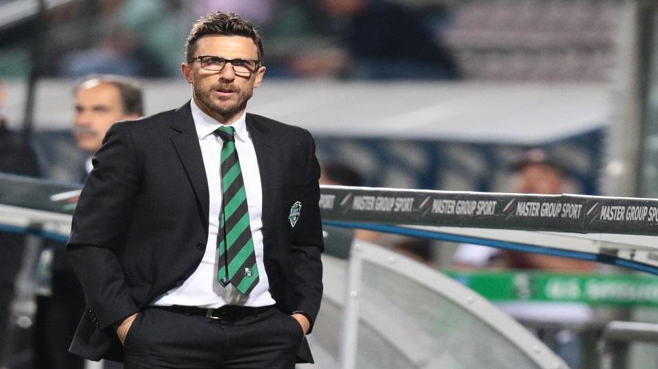 Eusebio Di Francesco, nuovo allenatore della Roma