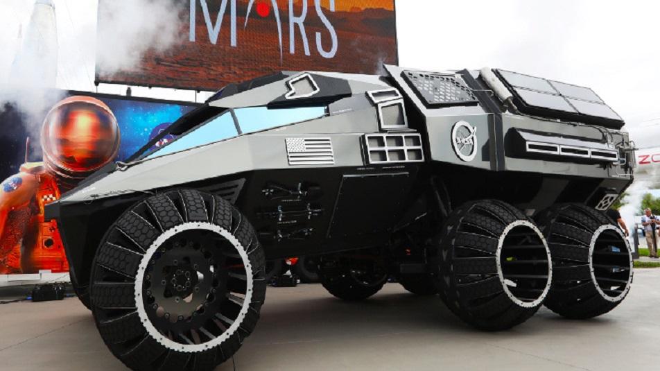 Mars Rover: il laboratorio per l'esplorazioni simile ad un furgone blindato