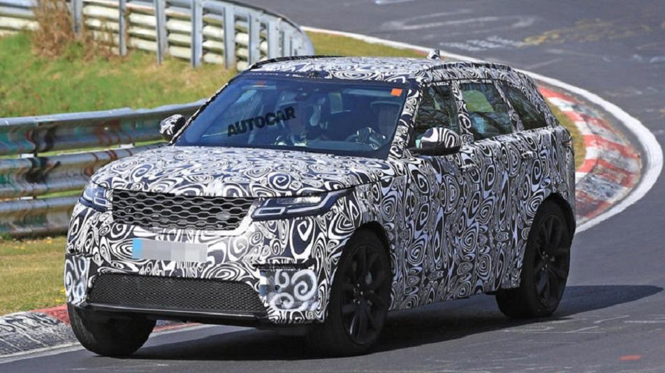 Range Rover Velar SVR: ecco le foto al Nurburgring