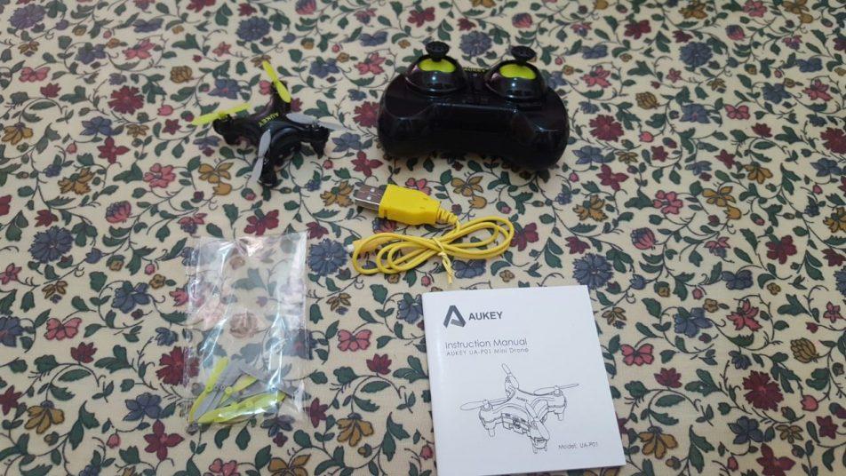 Aukey UA-P01: recensione mini drone radiocomandato