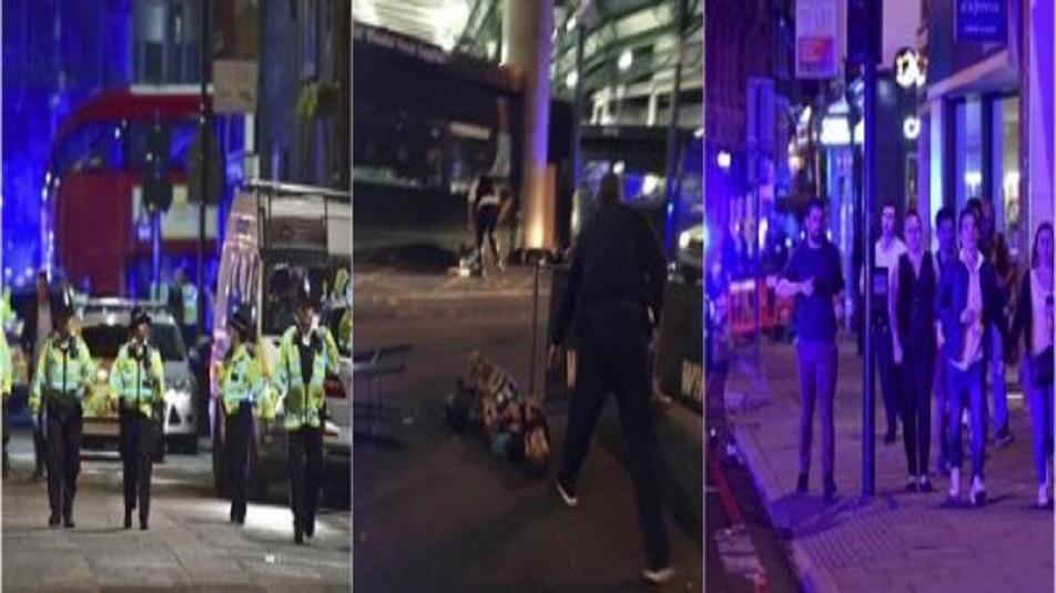 Londra: attacco a Borough Market e sul London Bridge