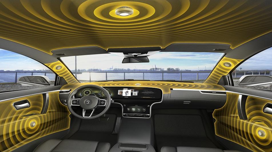 Continental: l'impianto audio che sostituisce gli altoparlanti con le vibrazioni dell'abitacolo