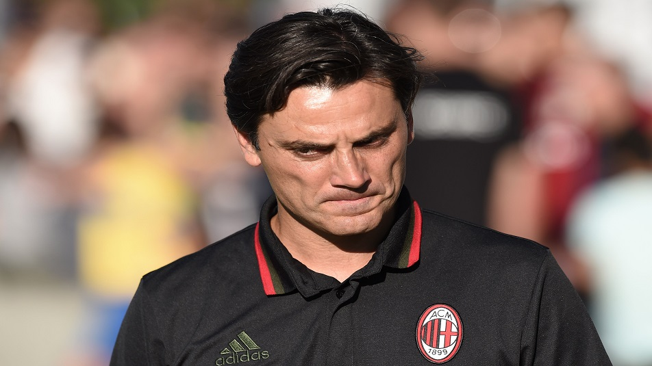 Montella si gioca la panchina in Inter-Milan