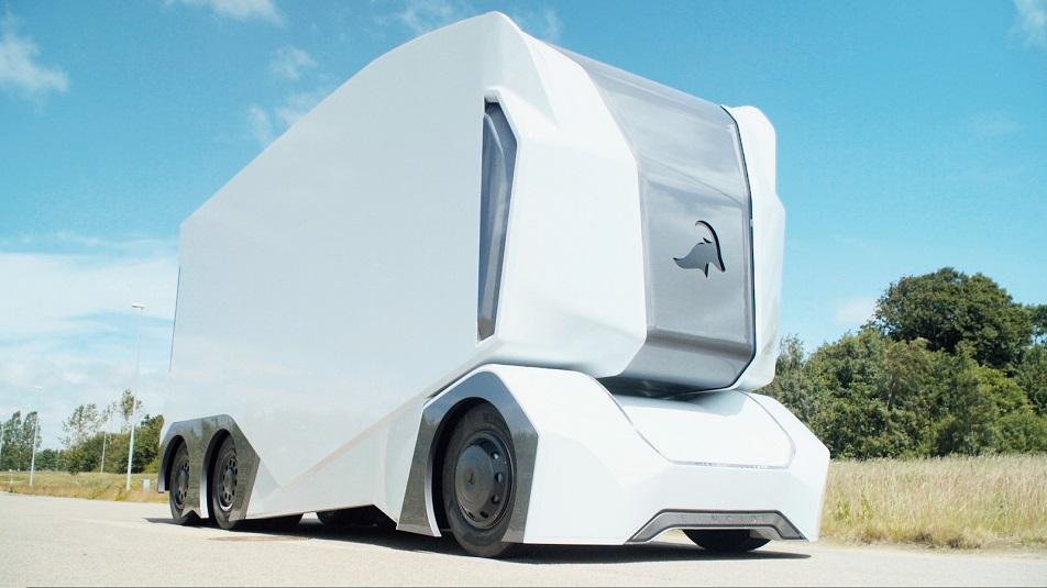 Einride: il camion elettrico con guida automatica