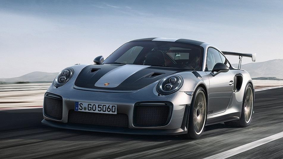 Porsche 911 GT2 RS al Goodwood Festival Of Speed (VIDEO)