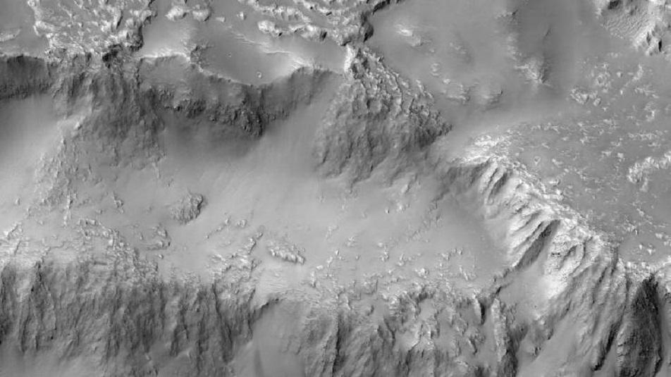 NASA: 'Fotografate le 'cascate del Niagara' su Marte'