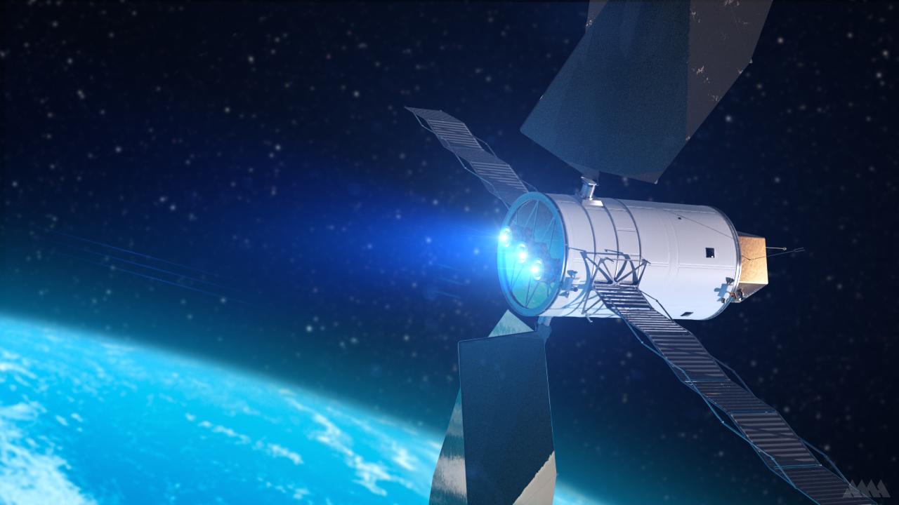 propulsione solare elettrica SEP NASA