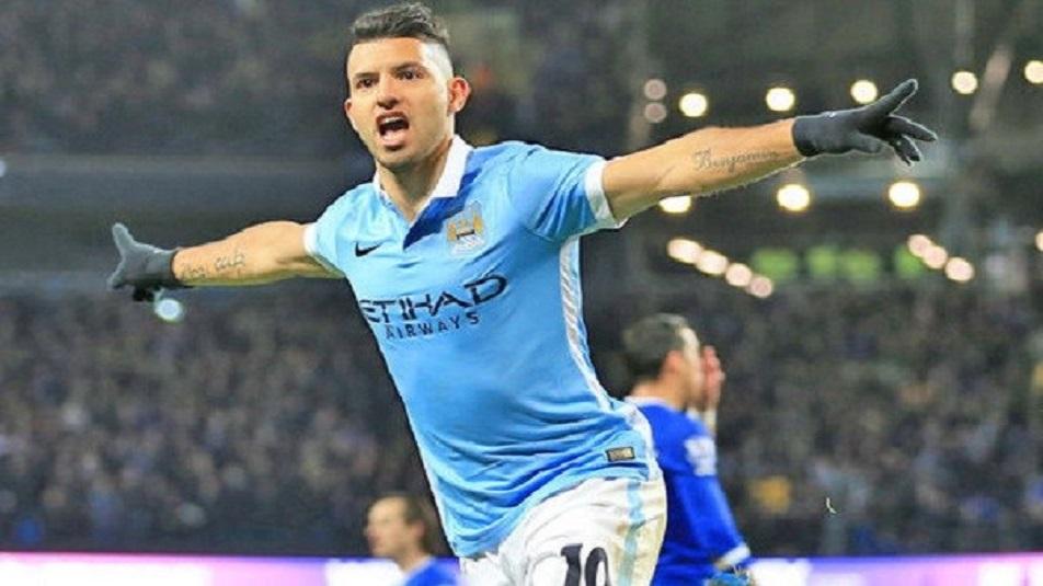Aguero, protagonista di Manchester City-Liverpool