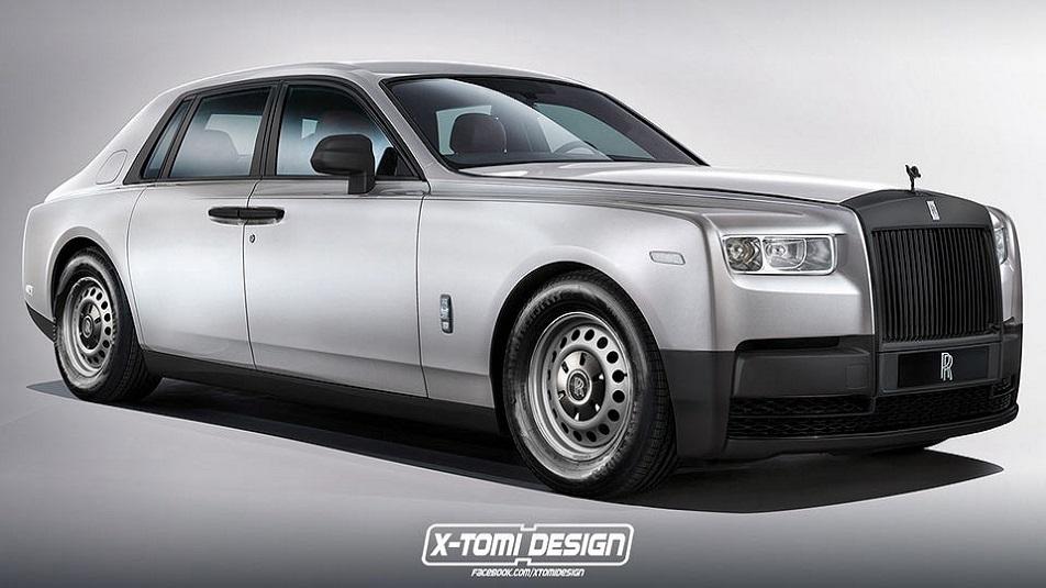 Rolls-Royce Phantom: ecco l'idea di X-Tomi
