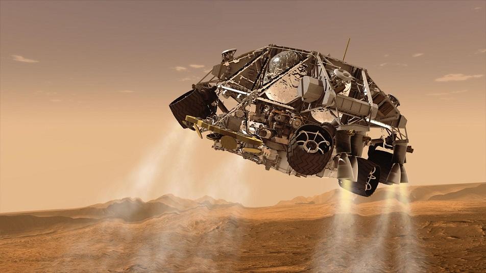 Curiosity festeggia il compleanno su Marte