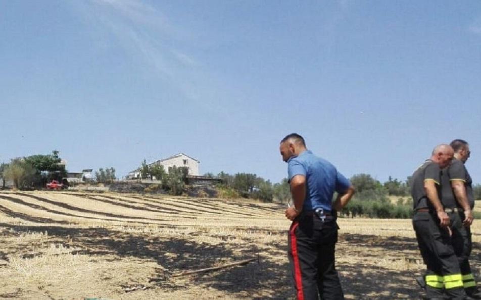Incendi a Teramo (Fonte: tg24.sky.it)