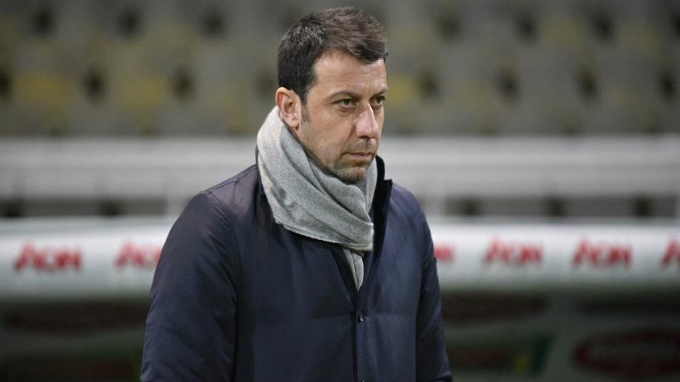 D'Aversa, allenatore del Parma che partirà da -5 nel prossimo campionato di serie A