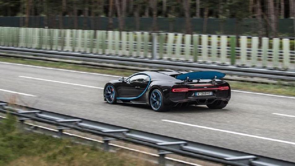 Bugatti Chiron: record mondiale accelerazione da 0 a 400 km/h