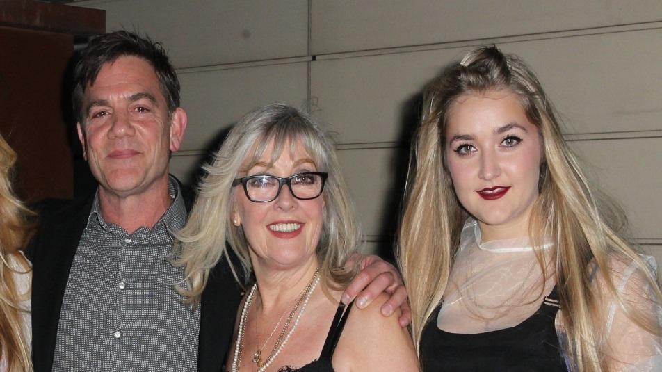 Louella Michie con i genitori