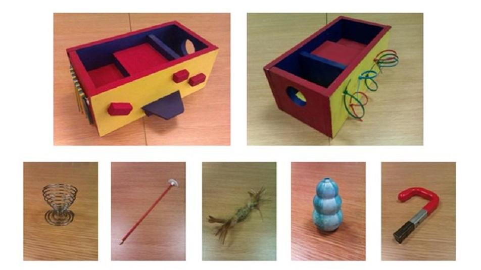 Il test della scatola può misurare la creatività di un bambino di un anno