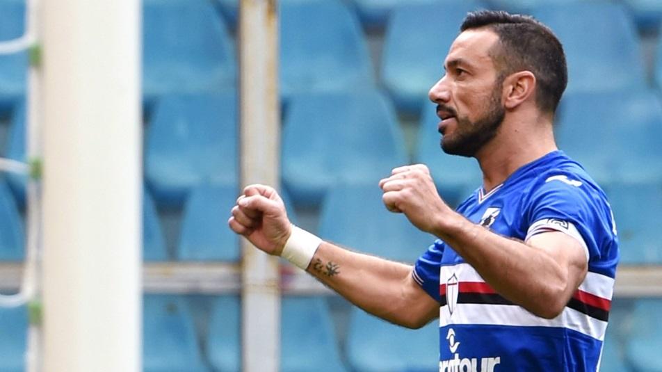 Quagliarella ex di Sampdoria-Juventus