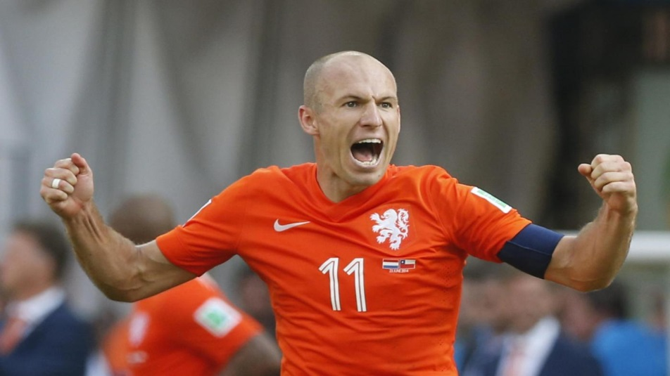 Robben, protagonista di Olanda-Svezia