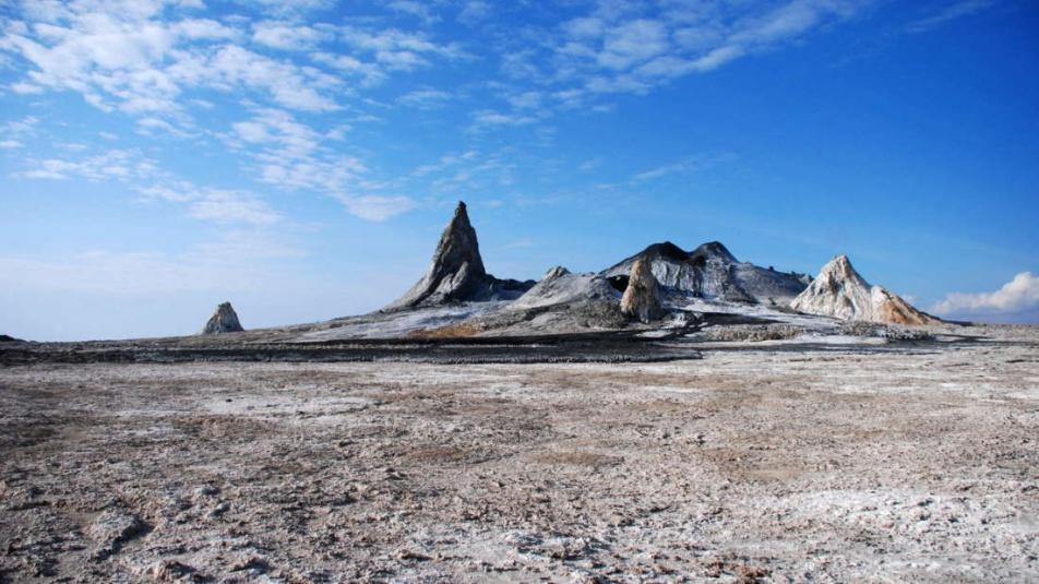 vulcano nero , lava fredda