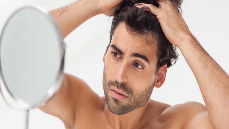 materiale biochimico coreano caduta-capelli