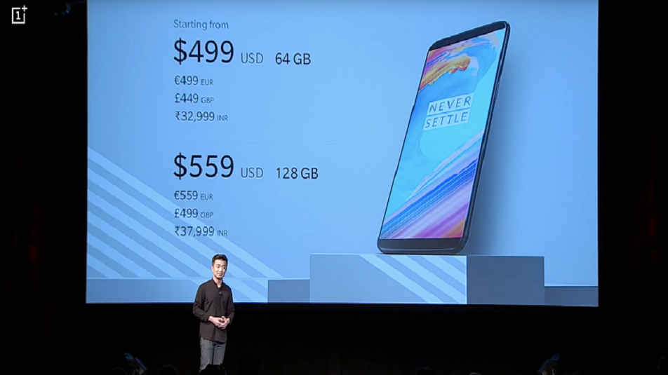 OnePlus 5T: si al jack cuffie, Face Unlock e Parallel Apps