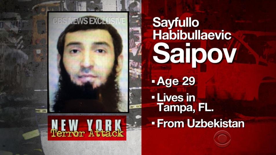 Sayfullo Habibullaevic Saipov, il terrorista dell'attentato di New York