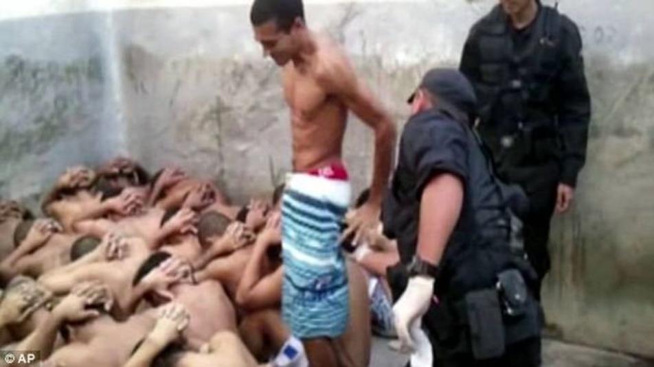 Brasile, video torture ai prigionieri in carcere