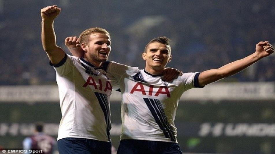 Kane e Alli protagonisti di Tottenham-Manchester City