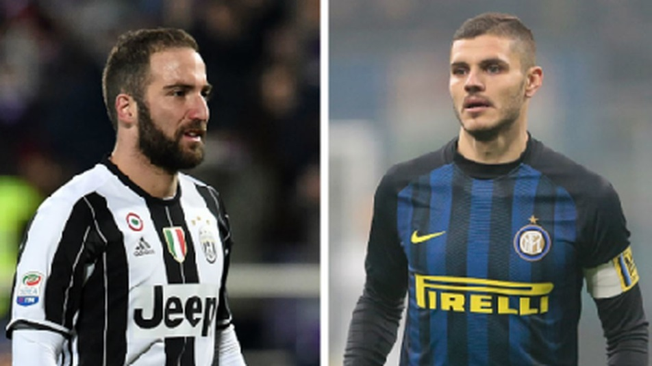 Juventus-Inter: Higuain o Icardi?
