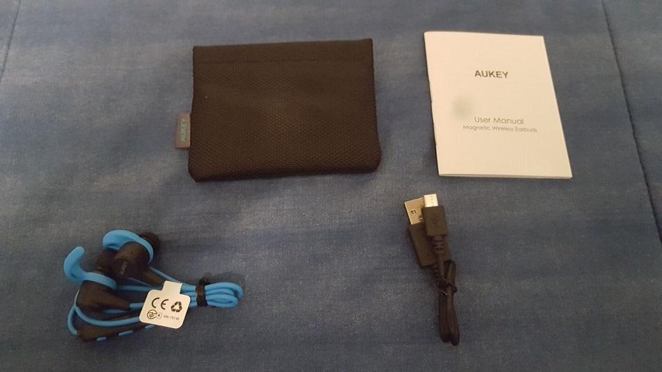 Aukey EP-B40: recensione auricolari in-ear bluetooth