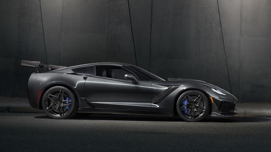 Chevrolet Corvette ZR1 2019 sarà battuta all'asta