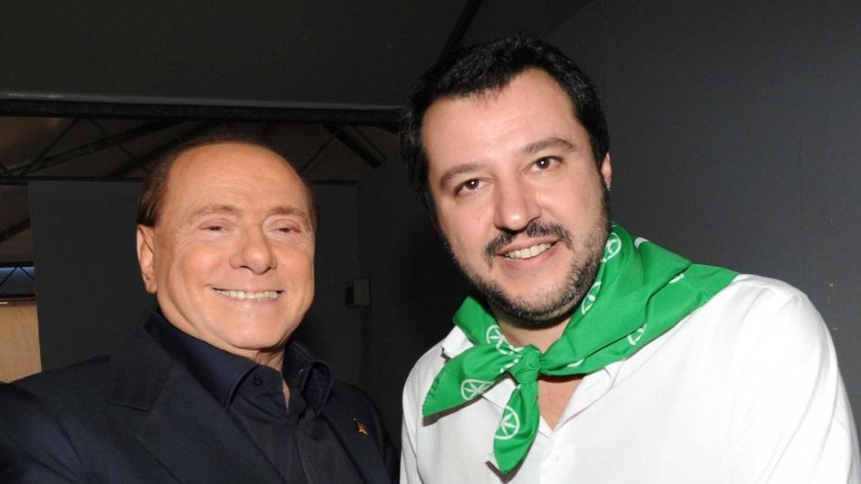 Salvini si autoproclama Premier a scapito della linea dettata da Berlusconi