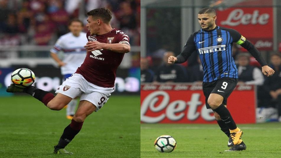 Belotti-Icardi, protagonisti di Torino-Inter
