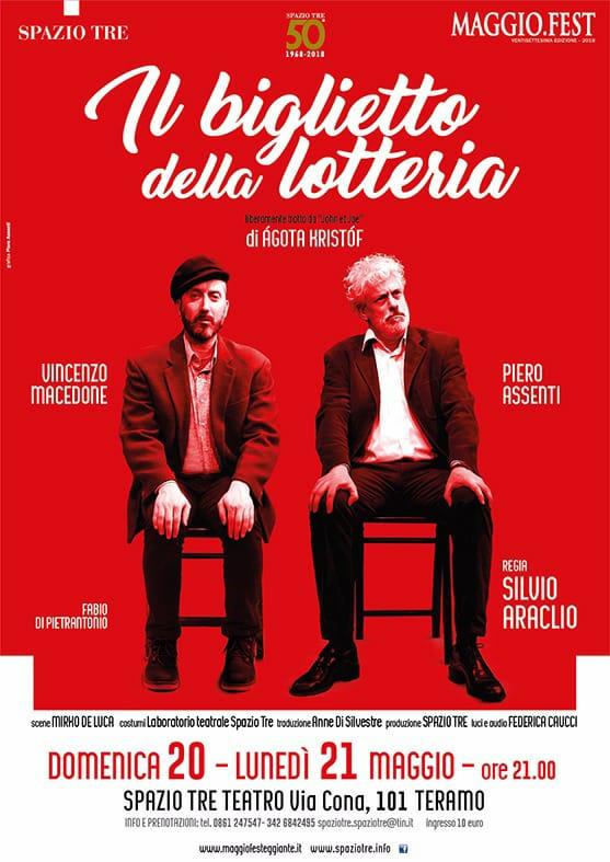 A teatro con Vincenzo Macedone e Piero Assenti