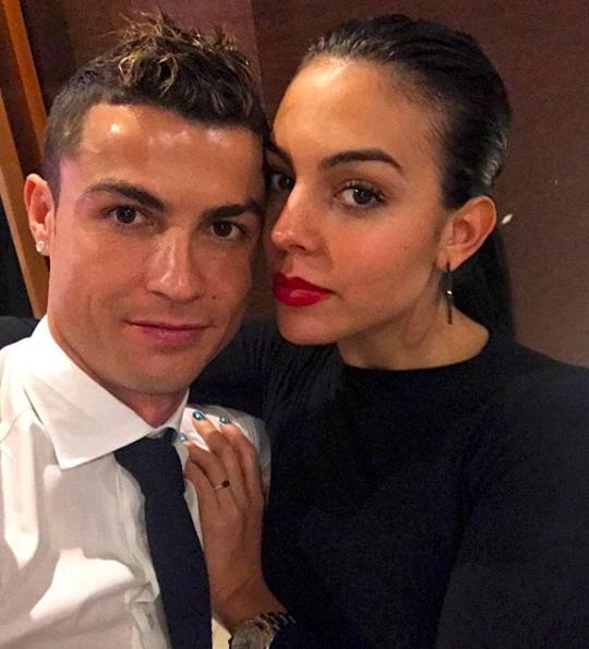 Cristiano Ronaldo in giro per l'Italia