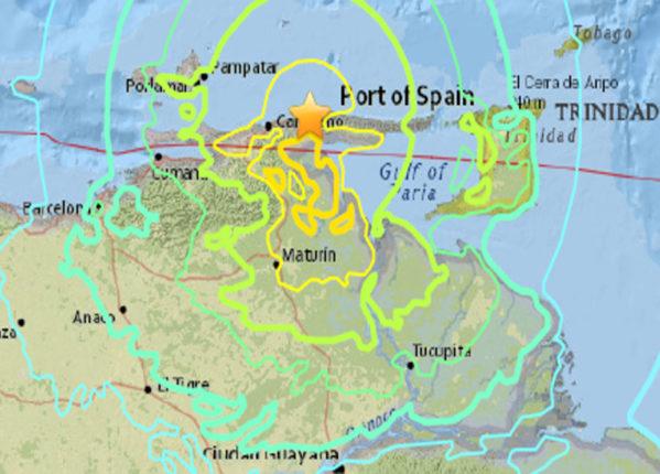 Terremoto in Venezuela magnitudo 7