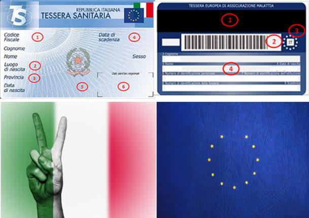 Tessera Sanitaria e Tessera Europea Assicurazione Malattia